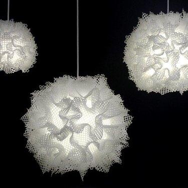 Puff pendant light trio, 2011