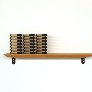 Untitled (Shelf and Sculpture)