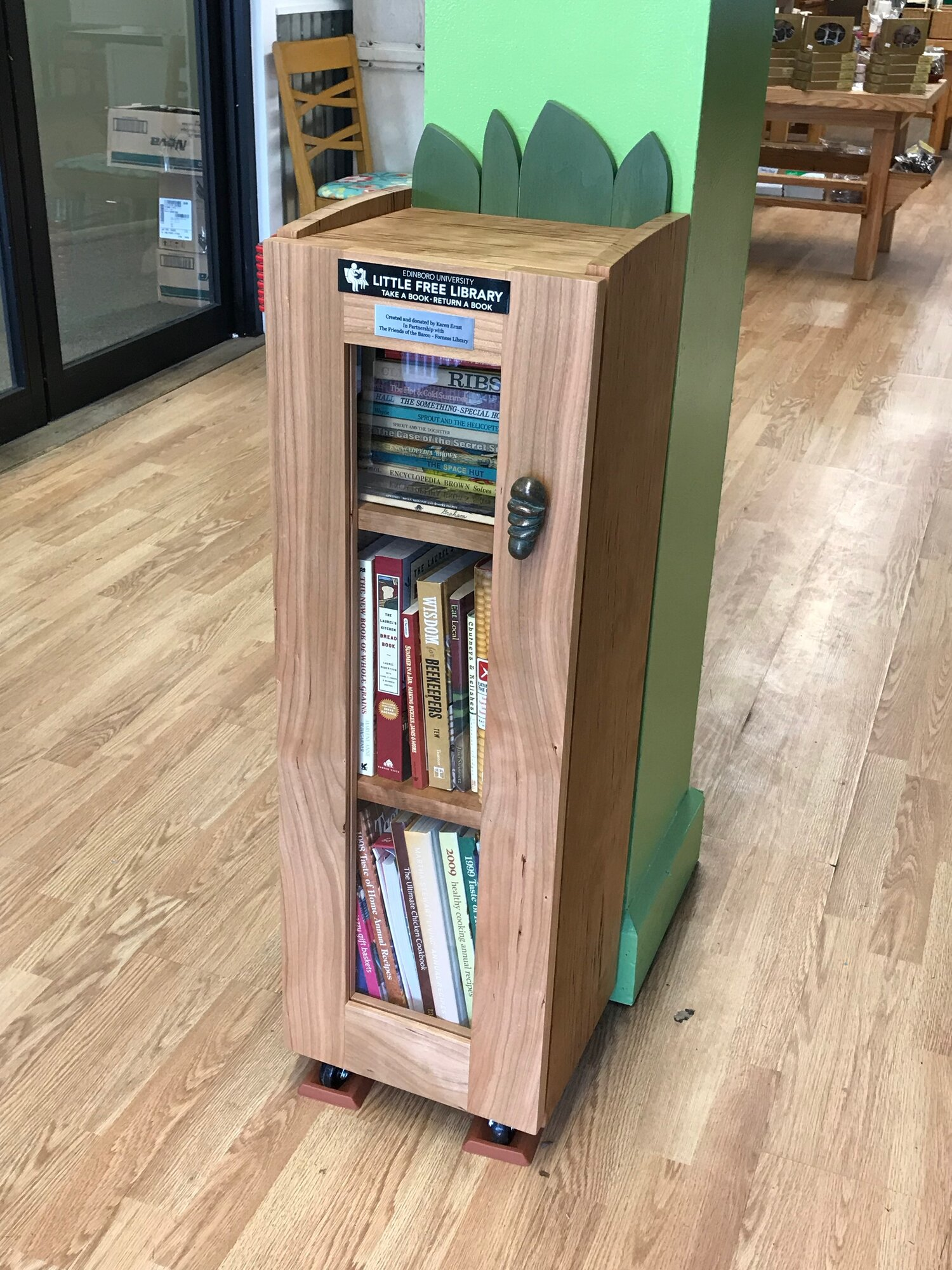 Sprout Cabinet - Little Free Library