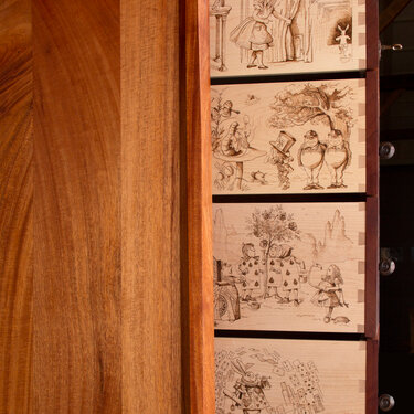 Alice Chest of Drawers--Detail