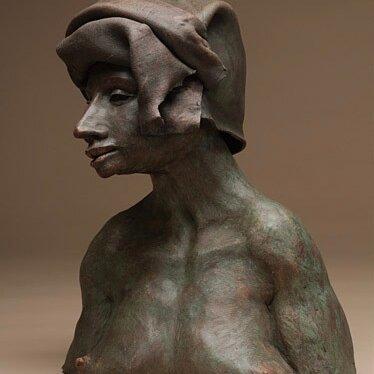 Bronze-waxed Torso