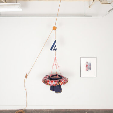 Overboard (Installation View)
