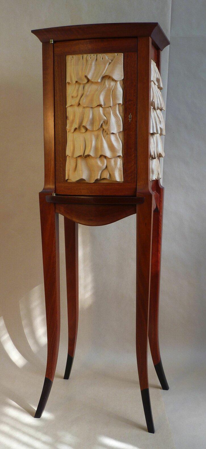 Ruffle Cabinet