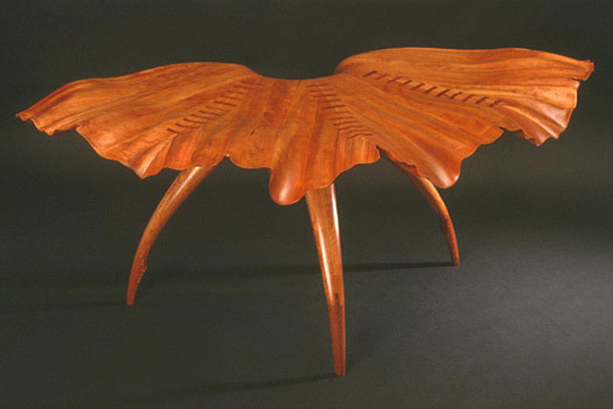 Georgi Mav Leaf Side Table