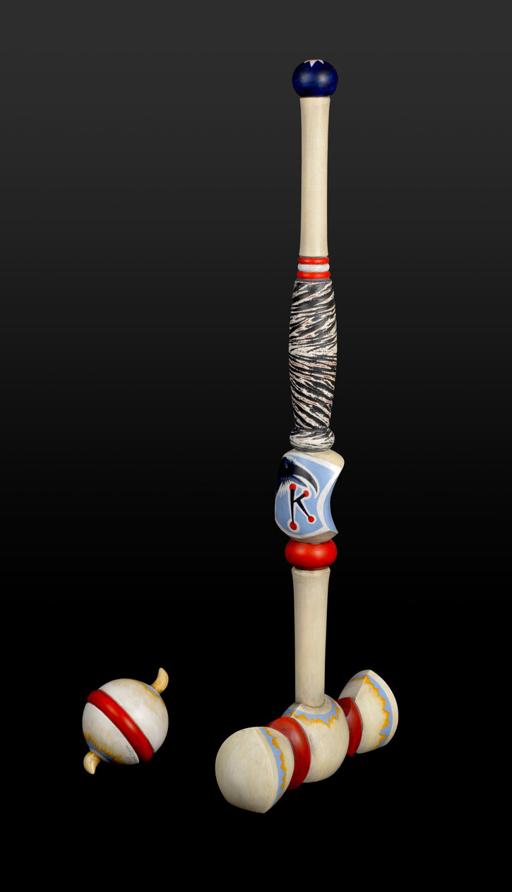 CROW K MALLET AND BALL