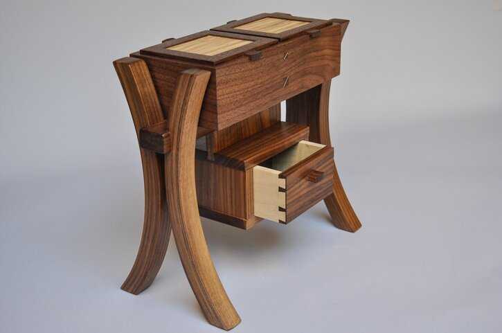 Box on Stand