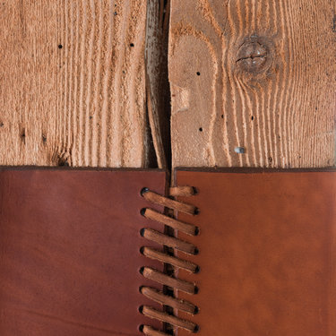 Detail of Leather Corsets
