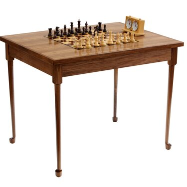 Cafe Chess Table