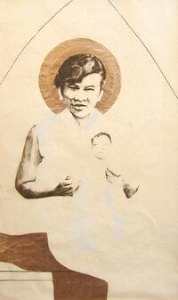 Saint Margaret detail
