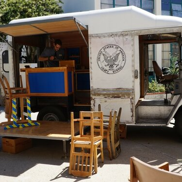 Tabitha Babbitt, US Craft Bureau Mobile Woodshop