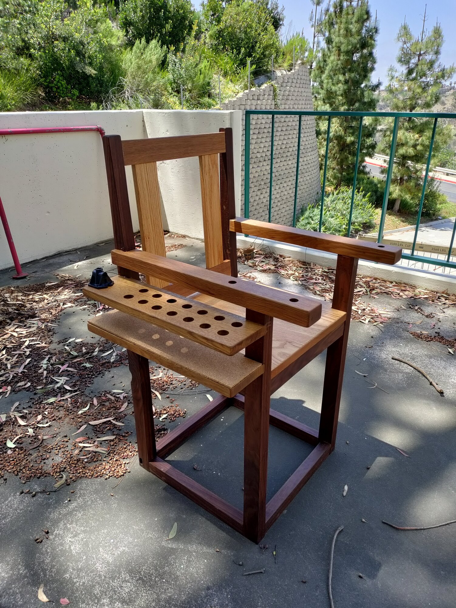 Wood Carving Chair