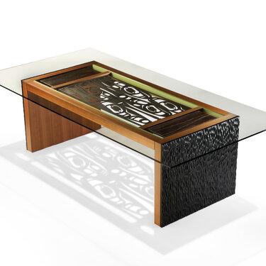 Salmon Paddle Table > Sabina Hill with Mark Preston