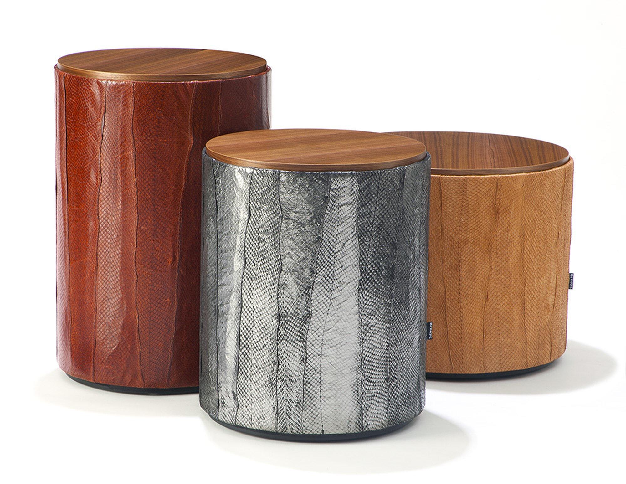Salmon Drum Tables