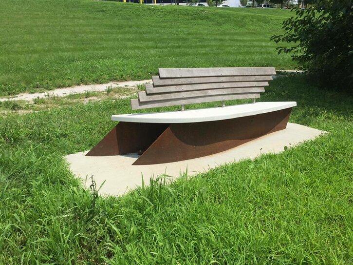 Riverbend Bench