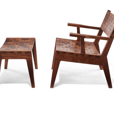 RB Easy Chair and Ottoman
