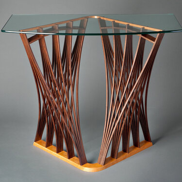 Parablola Hall Table