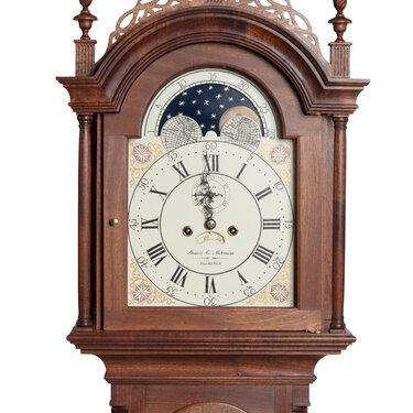 Tall Case Clock detail