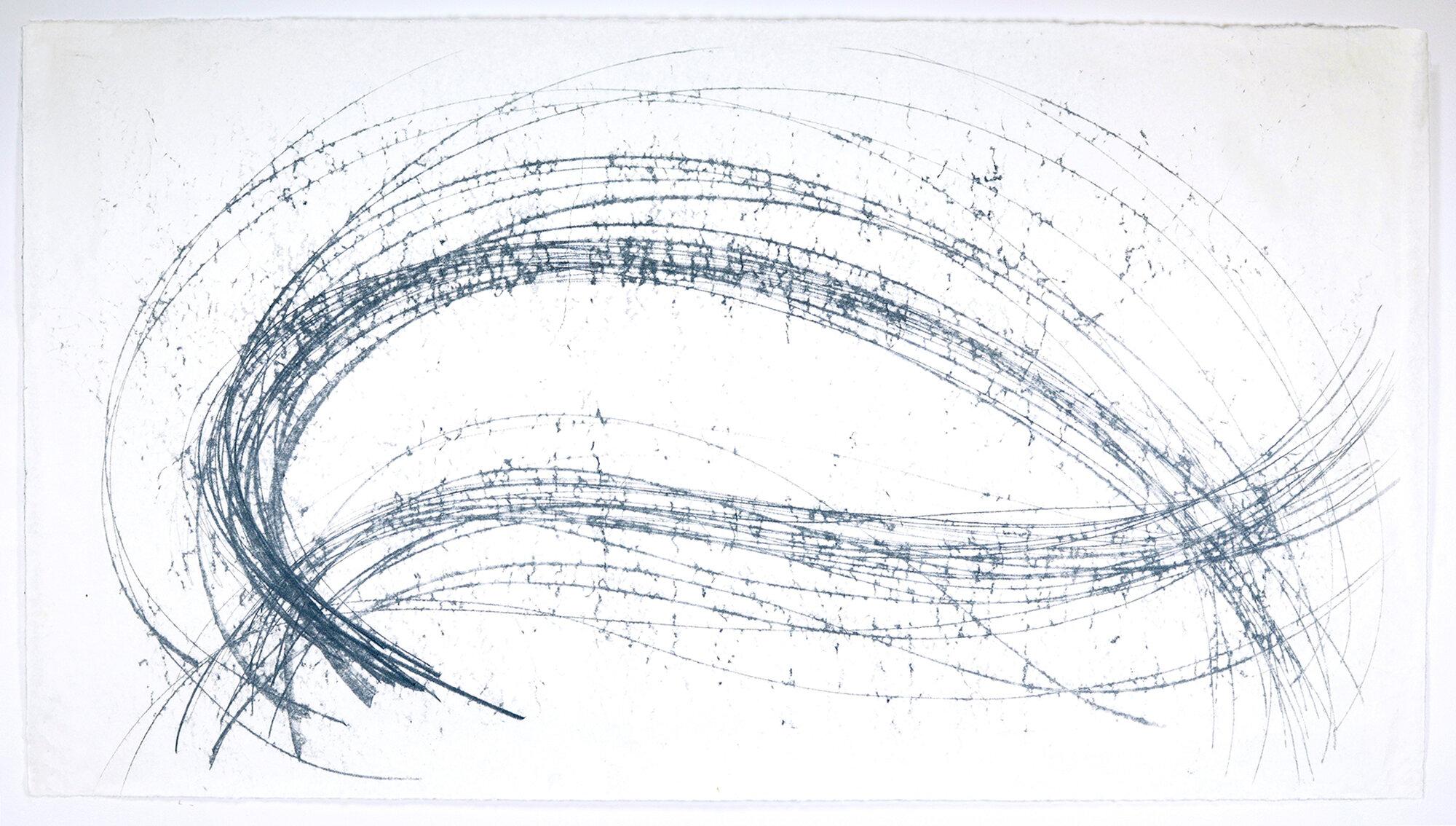 Motion-Tracked Monoprint