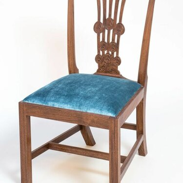 Peacock Chippendale Chair